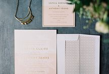 MOALOVE: Wedding Paper / The prettiest paper save the dates, invitations, thank you cards, programs, place cards, and menu to help inspire your wedding day.
