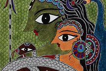 Folk and tribal art / by Rumnita Mazumder