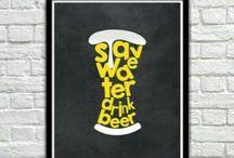 Beer…