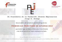Premios Aje Asturias 2014 / Community Manager Asturias estuvo presente en la gala de entrega de los premios de AJE Asturias 2014 http://www.tintavisual.com/premios-aje-asturias-2014/