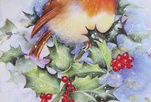 Agrifoglio Natale vintage