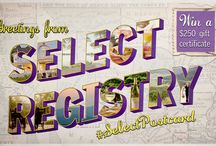 #SelectPostcard Photo Contest / by Select Registry