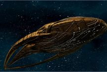 Alien Species and Starships / Awesome species and starship desgins from sci-fi film and TV / by Maria Kowal