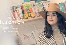 Katia Hanine's selection at Rockland / Passionnée de mode et de style de vie, Katia a lancé son blogue « Lapiz of Luxury » en 2012. Assistée par sa soeur et son copain (celui qui se cache derrière la caméra), elle partage ses looks inspirés des dernières tendances sur son blogue et sur Instagram. Anciennement professeure de biologie, elle travaille maintenant en marketing numérique.