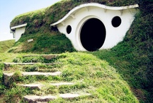 New Zealand / Stepping into the hobbit village (LOTR filming location)