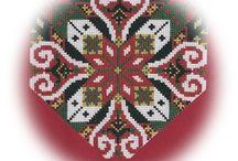 Bringeduk og belter til bunad /  Bringeduk and belts costume