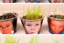 Pflanzen im Kindergarten