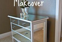 D.I.Y furniture makeovers ♻