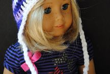 Cool doll winter hat