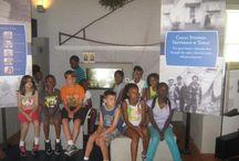 Boys & Girls Club (Roanoke Rapids Unit) Ages 10-12 / Members (ages 10-12) of the local Boys & Girls Club tour the Roanoke Canal Museum. (7-17-13)