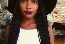 black women braid
