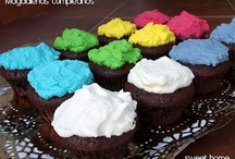 Cupcakes, cakes and desserts