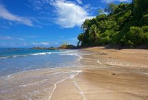Drake Bay - Sierpe, Costa Rica / Drake Bay is the ultimate escape destination for nature lovers, with its white sand beaches, tropical lowland forests, waterfalls and wildlife. Click any pin for a local travel guide to plan your trip to Costa Rica.
