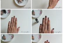 Nail Art / Simple and Easy nail arts