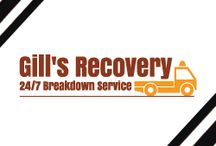 Vehicle Breakdown Recovery Services / Gills breakdown Recovery provides 24hr  vehicle breakdown recovery service.