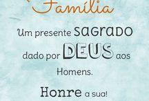 mensagem família