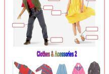 English ‒ SZ Fashion, clothes