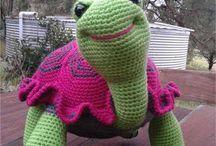 crochet tortoise