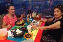 Having dinner Casa mariachi / The best dinner ever