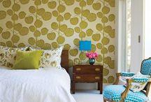 Wallpaper by Benjamin Rugs and Furniture