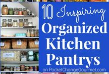 Organization - Kitchen / by Barbie Swihart