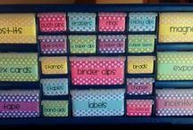 Classroom: Organized Room / by Jen Carson