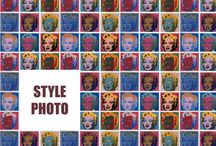 III. Décomposition - Recomposition / stylisme photo / Neuvième section du troisième chapitre du Web s'habille en Prada