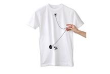 Interactive Shikisai T-Shirts by Japanese designer-duo Noto-Fusai (SHIKISAI)