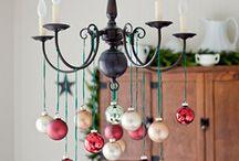 Vánoce stůl