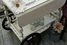 Carrinhos de chá