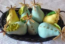fruta tecido