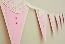 Decorative Bunting Garlands for Your Toddlers  / Beautiful Handmade Bunting Garland Banners
