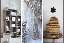 Winter Home / Winter is is filled with so many different colors that aren't in any other season. Make your home reflect that with these cool decorative ideas.