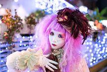 Shironuri / new Lolita trend