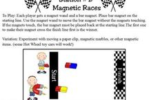 Education - Science - Magnets