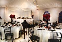 wedding indoor decor