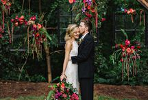 Wedding cherry bohemian