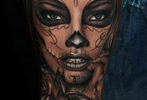 Hodeskalle-tatoveringer