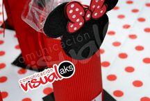 Ideas para cumple de Mickey y Minnie...!!