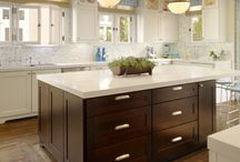 Eclectic Kitchen Design / Eclectic design encompasses various periods and styles united by the use of color, texture, finish & shape. / by Studio41 Home Design Showroom