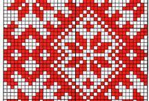 punto cruz diseños