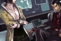 Kazuya Mishima x Anna Williams