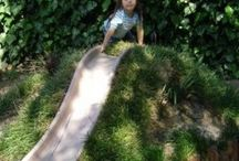 tuin glijbaan