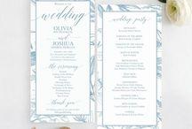 Dusty Blue Wedding / Dusty vintage blue wedding theme.