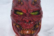 Oni savage mask / Art work