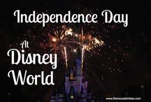 Independence Day - 4th of July at Walt disney World / Celebrate America at Walt Disney World.  Experience the awesome fireworks and all the summer fun available at the Magic Kingdom, Epcot, Disney's Hollywood Studios and Disney's Animal Kingdom.