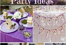 Birthday Party- Fairy Theme
