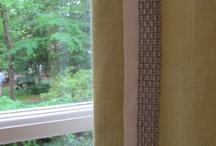window treatments / by Shelley Huber