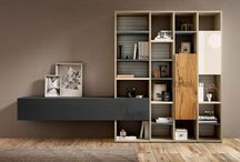 ГОСТИНАЯ модерн / гостиные, тв стойки, книжные полки, living room, bookcase, tv stand