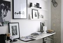 workspace / by BLUSH Sarah King